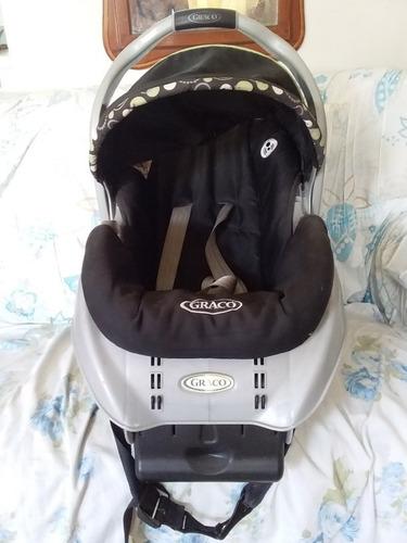porta bebé graco con base para carro