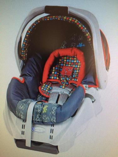 porta bebé graco para carro