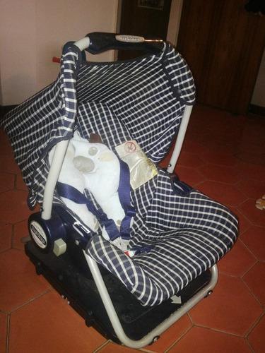 porta bebe/ silla carro peg perego
