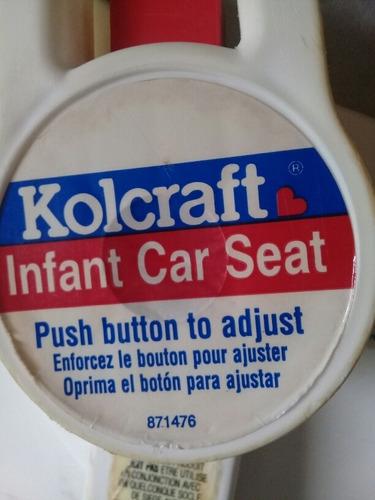 porta bebe y silla para carro