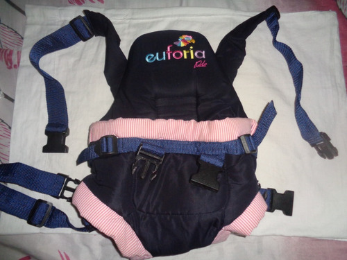 porta bebes fular canguro ergonómico unisex acolchado