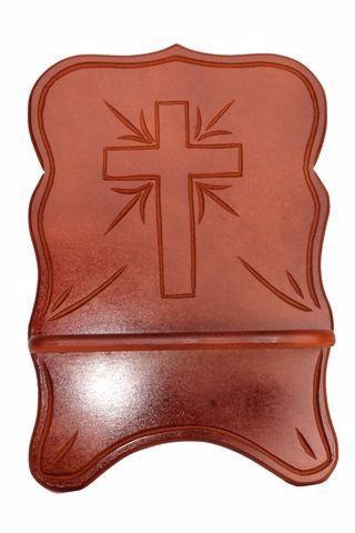 porta bíblia de madeira médio