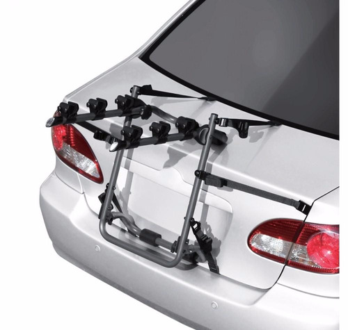 porta bicicleta baul auto 3 bicicletas reforzado premium