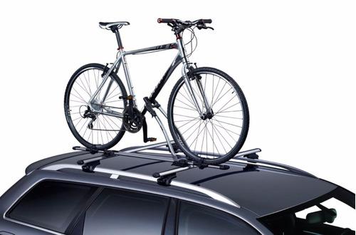 porta bicicleta de techo negro nuevo (ª)