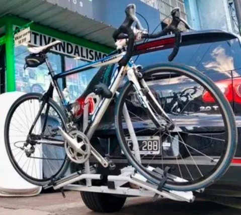 porta bicicleta para enganche bocha remolque iael jb-030