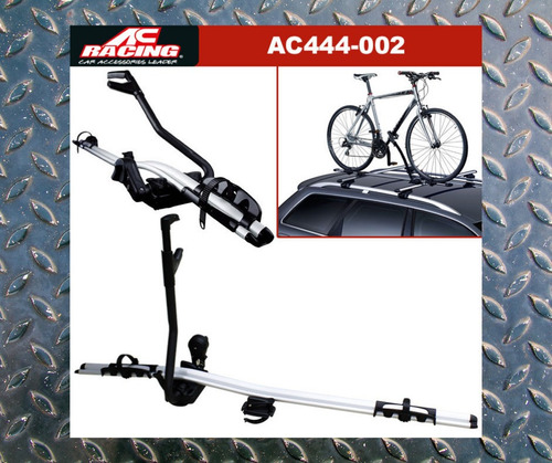 porta bicicletas ac racing original de aluminio con llave