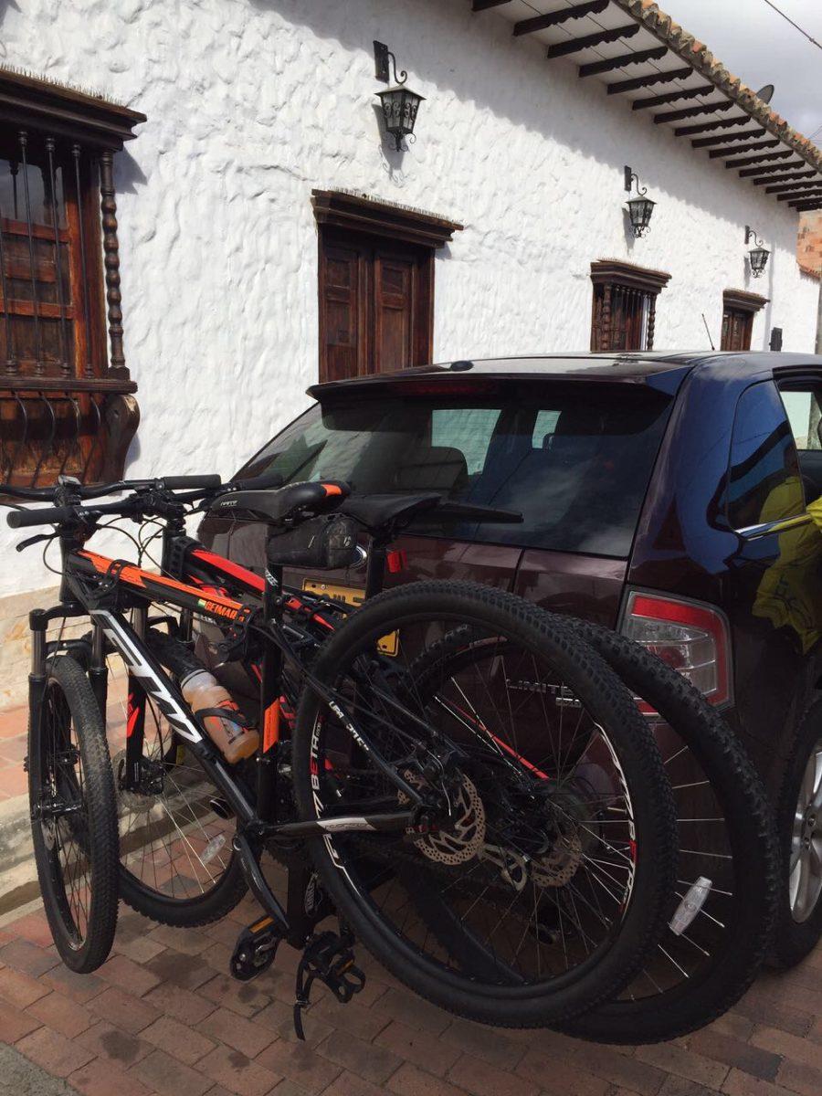 Porta Bicicletas De Tiro Para 2 Bicicletas Carro Camioneta 249 999 En Mercado Libre