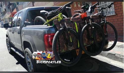porta bicicletas para camioneta pickup (soporte) original #1