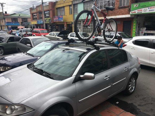 porta bicicletas soporte techo carro tapiforros 7 de agosto