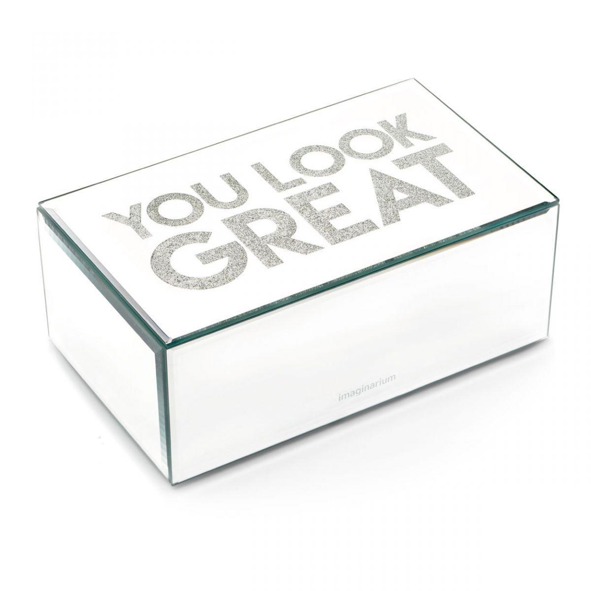6982d160e Porta Bijoux Espelhado Look Great Imaginarium - R$ 119,90 em Mercado ...
