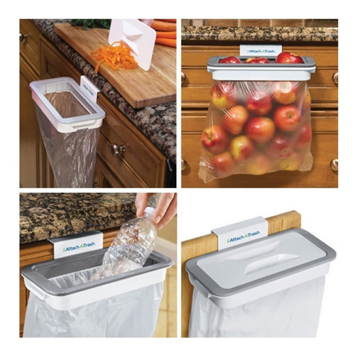 porta bolsa de basura para mueble de cocina