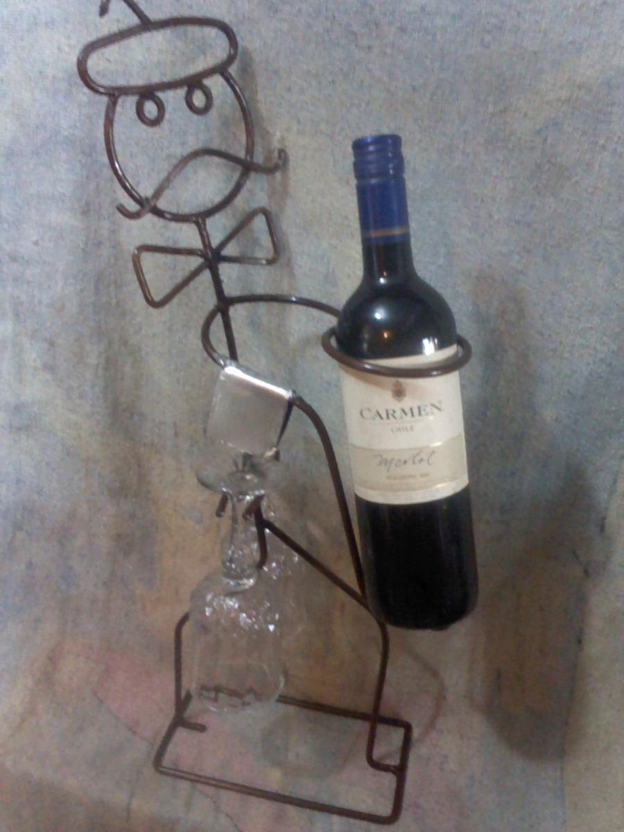 Porta botella de vino en mercado libre - Muebles para poner botellas de vino ...