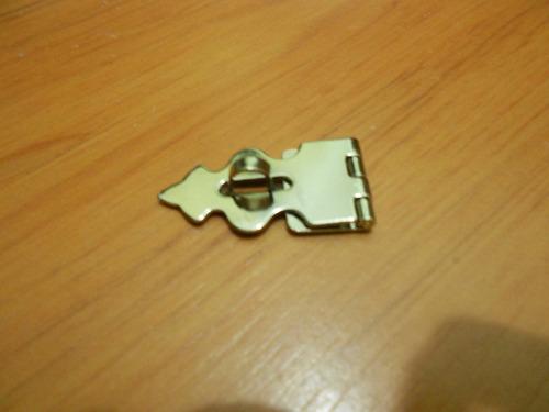 porta cadeado/porta jóias (ref: 820 croma) embalagem c/ 5 pç