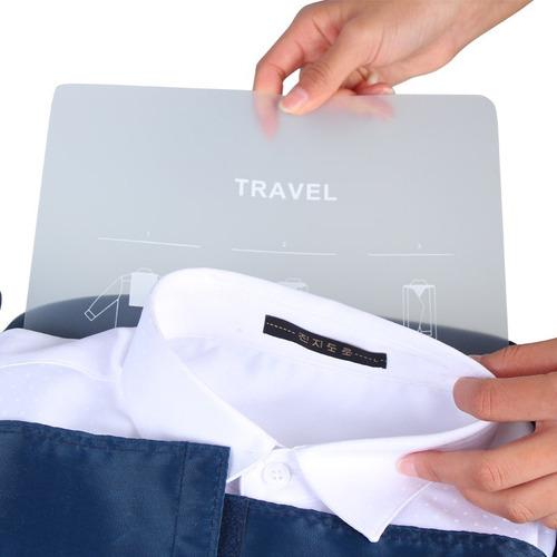 porta camisas viaje