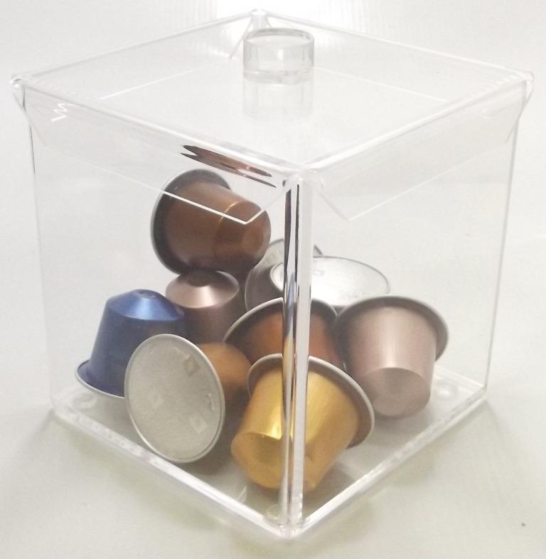 Porta Cápsulas Nespresso Cube - R$ 58,90 em Mercado Livre