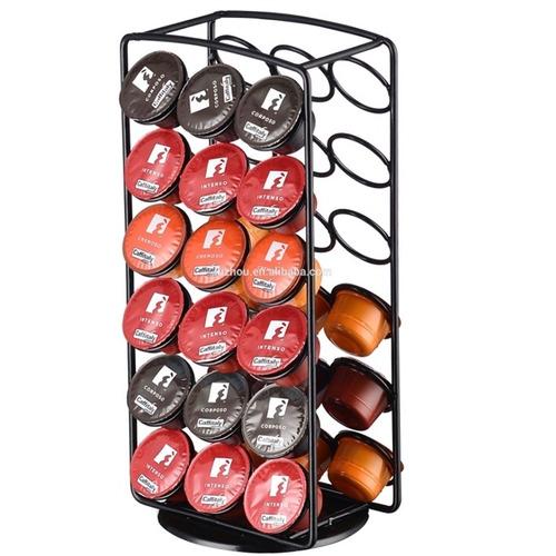 porta cápsulas nespresso giratório 36 capsulas nespresso