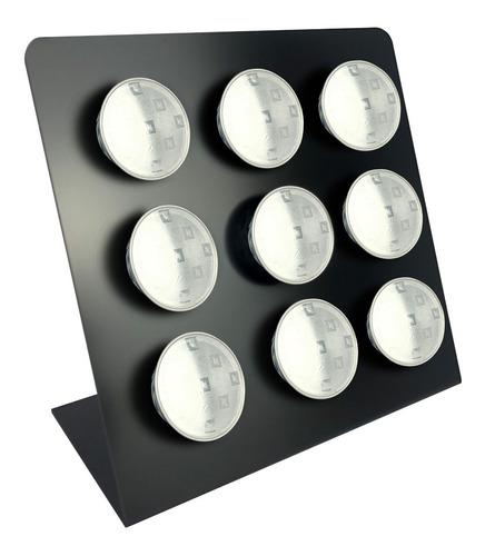 porta capsulas nespresso preto fosco 9 capsulas