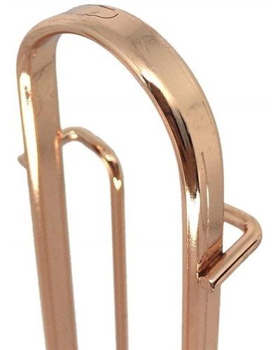 porta capsulas nespresso rose gold suporte tripla luxo