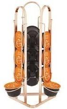 porta capsulas tres coracoes rose gold suporte tripla luxo