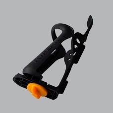porta caramagiola para bicicleta ciclistas ajustable  negro