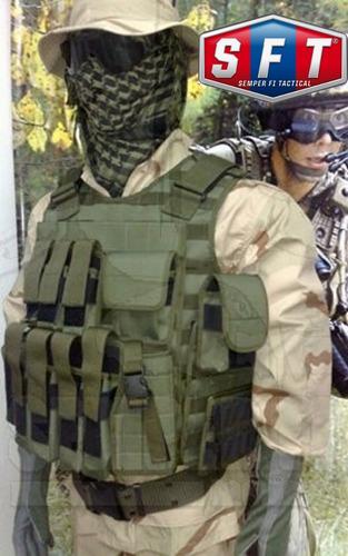porta cargador doble de fal molle verde semper fi tactical®