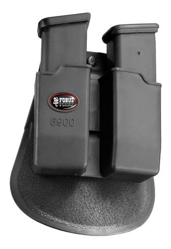 porta cargador doble fobus glock 17/19 h&k usp 9 y 40