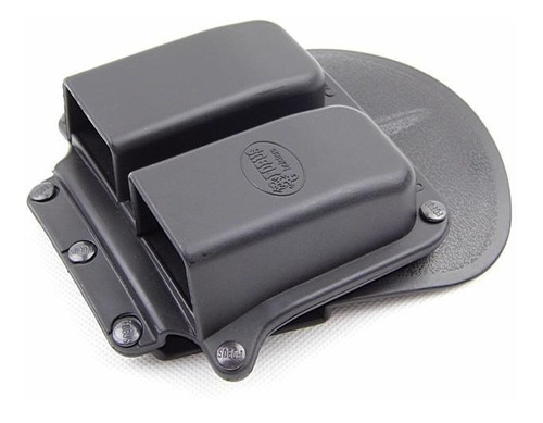 porta cargador doble glock 17 19 25 23 22 etc