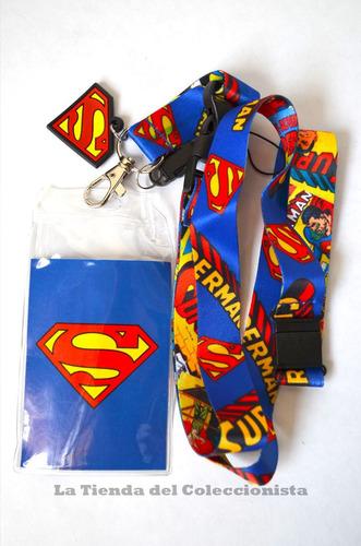 porta carnet porta identificacion superman importado