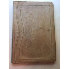 Porta Carpeta Cuero Crudo - Tamaño Oficio