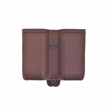 porta carregador duplo em polímero bélica verde