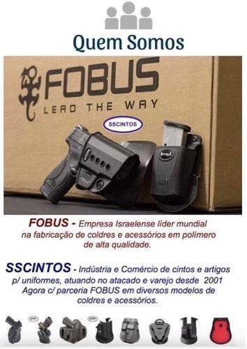 porta carregador fobus monofilar taurus  pt945 - original