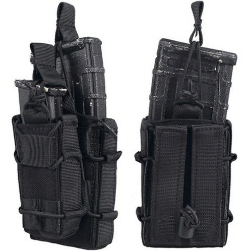porta carregador tático fuzil e pistola