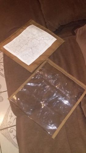 porta carta tactico militar cartografia planos documentos