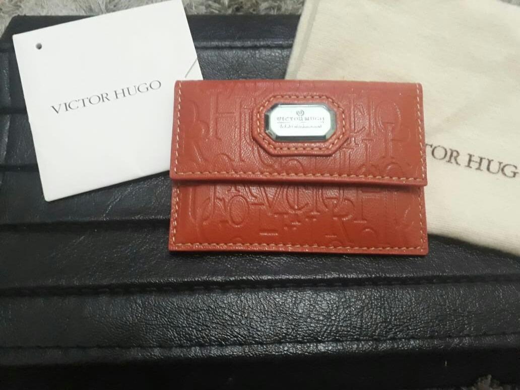 Porta Cartao Carteira Victor Hugo Original - R  180,00 em Mercado Livre f0dc6b5540