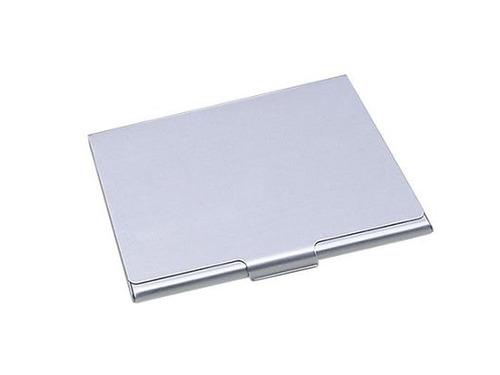 porta cartão de visitas crédito em alumínio pronta entrega