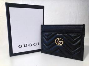 5ae2b6b947 Carteira E Porta Cartão Gucci. no Mercado Livre Brasil