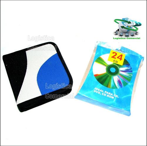 porta cd 24 cd dvd blu ray hogar oficina automovil sonido
