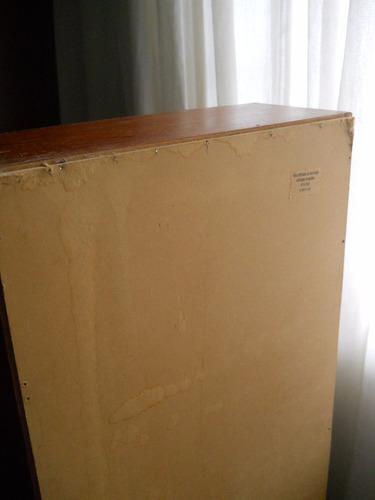 porta cd de madera