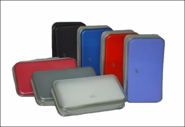 Porta cd dvd p unidades pasta case plástico resistente r