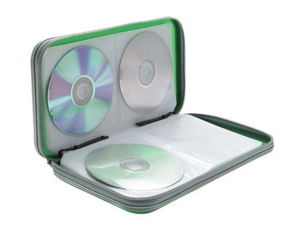 Porta cd estuche cd de disco almacenamiento cd dvd
