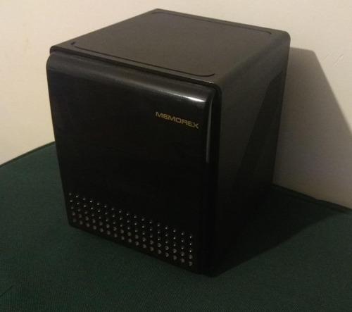 porta cd memorex espacio para 10 cds