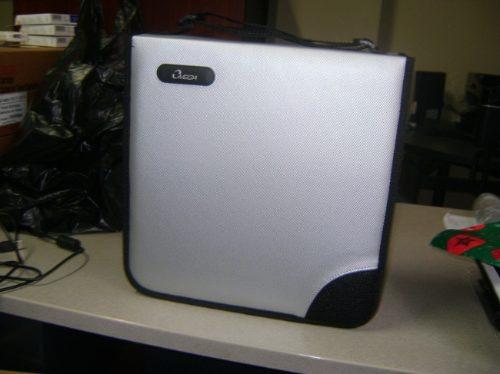 porta cd wallet cartera para 240 cd a prueba de agua capa cd