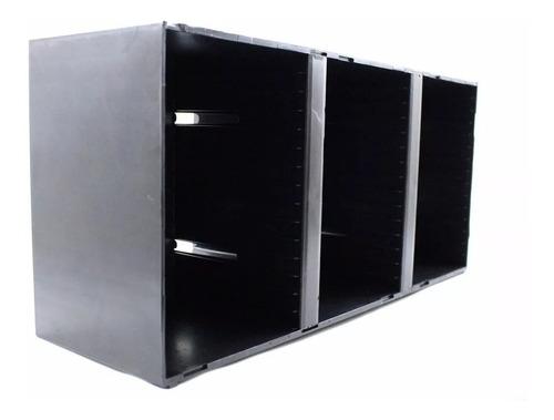 porta cds organizador para 45 cds modular newness