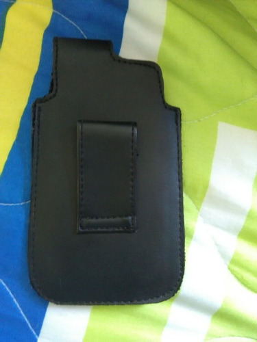 porta celular de cuero
