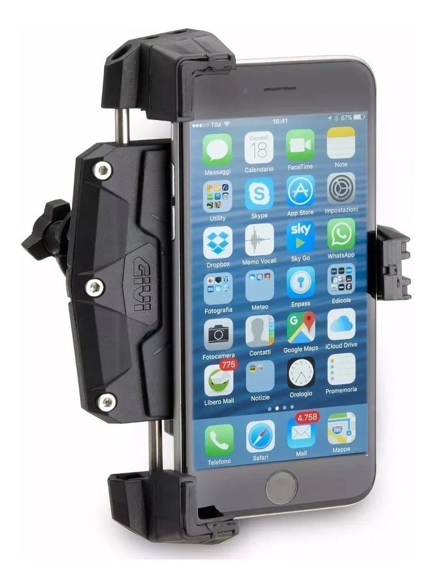 91875d8d8e3 Porta Celular Gps Moto Givi Motoscba S. - $ 6.117,87 en Mercado Libre