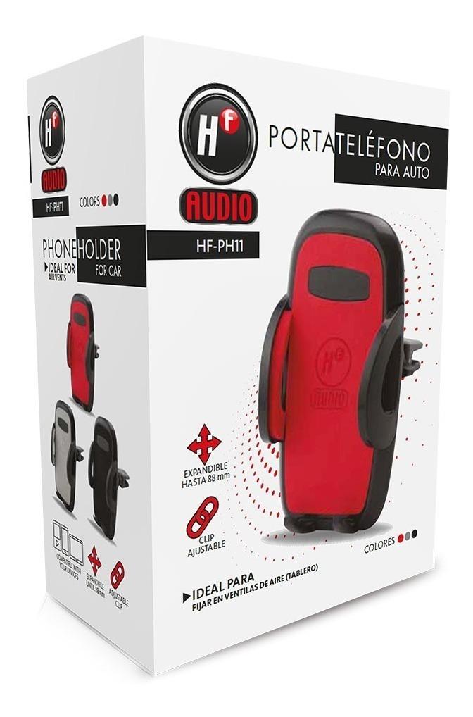79e7558d562 porta celular para auto ajuste hermético hf audio hf-ph11. Cargando zoom.