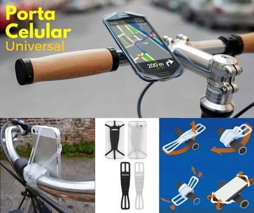 porta celular para bicicleta universal soporte en silicona