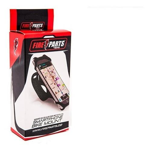 porta celular para moto de silicona fire parts