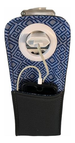 porta celular sustentável - suporte para carregador tomada
