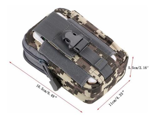 porta celular tactico táctica mochila bolsa bici motocicleta